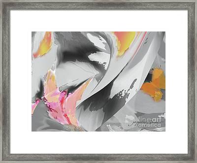 Windy Flight Framed Print