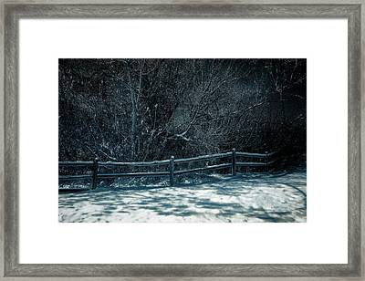 Winter Arrived Framed Print