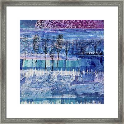 Winter Blues 1 Framed Print
