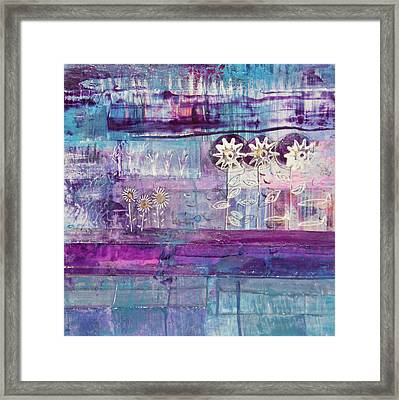 Winter Blues 2 Framed Print