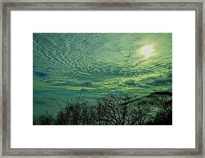 Winter Clouds Framed Print