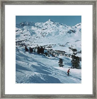 Winter Sport Framed Print by Frederic Lewis