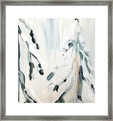 Winter Trees #3 Framed Print