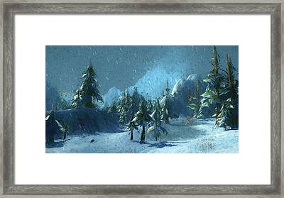 Winterspring Framed Print