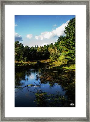 Wisconsin Waterscape Framed Print
