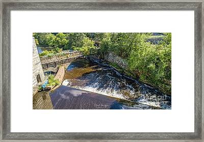 Framed Print featuring the photograph Withstanding Time by Michael Hughes