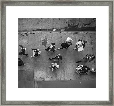 Women's March Framed Print