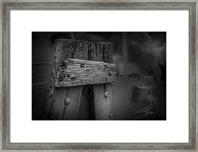 Framed Print featuring the photograph Wood Rustic Character by Bill Posner