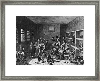 Wood Street Compter Framed Print by Hulton Archive