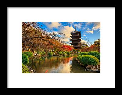 Kansai Framed Prints