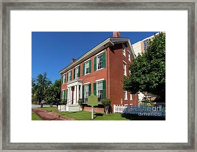 Woodrow Wilson Boyhood Home - Augusta Ga 2 Framed Print