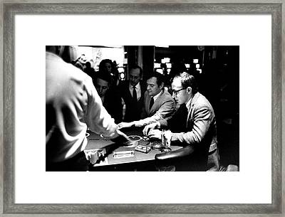 Woody Allen Framed Print by Bill Ray