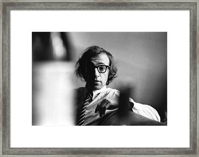 Woody Allen Framed Print by Evening Standard