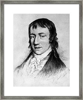 Wordsworth Framed Print by Hulton Archive