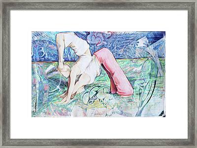 Work Togehter Framed Print