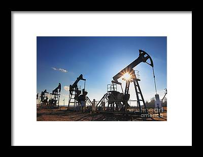 Fuel Framed Prints