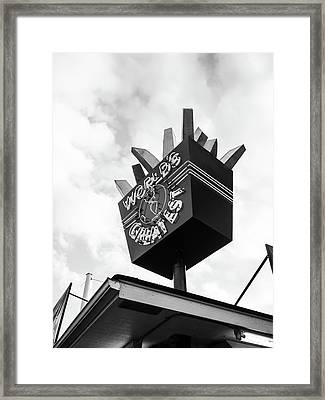Framed Print featuring the photograph World's Greatest by Whitney Leigh Carlson
