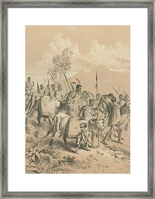 Wounded Fighters Framed Print by Hulton Archive