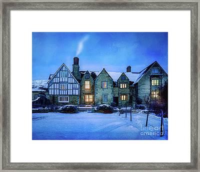 Ye Olde Manor Framed Print