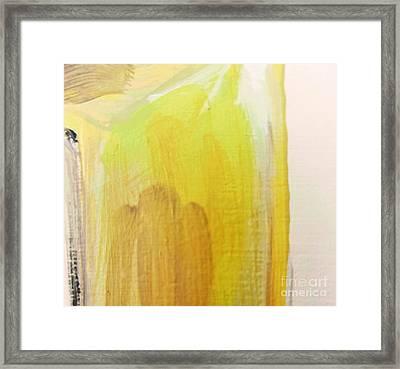 Yellow #3 Framed Print