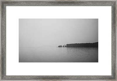 Quiet Moment Framed Print