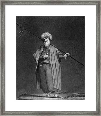 Yemeni Arab Framed Print by Hulton Archive