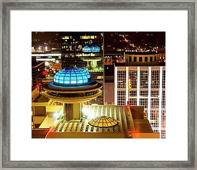 Yesterday's Future - Classic Atlanta Skyline Framed Print