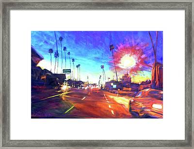 York At Figueroa, Highland Park Framed Print