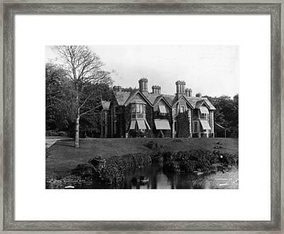 York Cottage Framed Print by London Stereoscopic Company