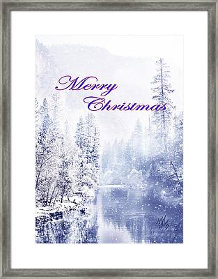 Yosemite-river Framed Print