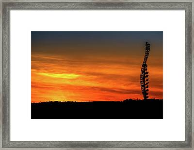 You Will Be Possessed In 3..2.. Framed Print