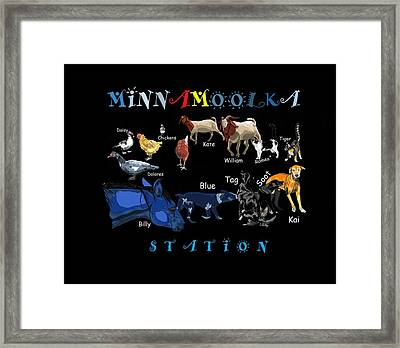 Your Friends At Minnamoolka Station Framed Print
