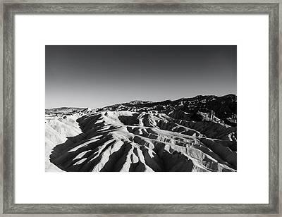 Zabriski's Grasp Framed Print