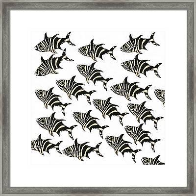 Zebra Fish 7 Framed Print