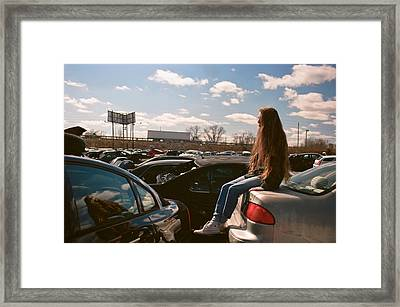 Framed Print featuring the photograph Zoom Zoom by Carl Young