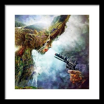 Global Warming Framed Prints
