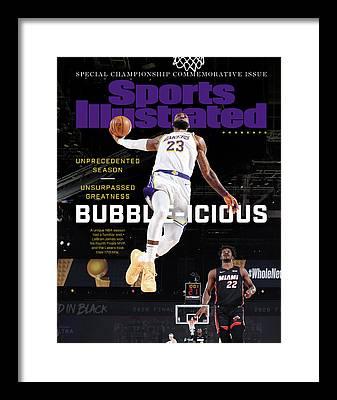 Los Angeles Lakers Framed Prints