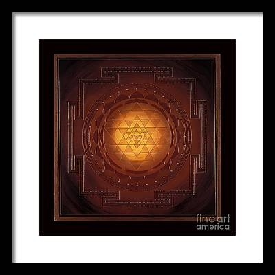 Sacred Geometry Framed Prints