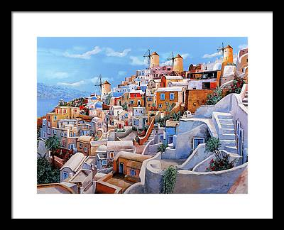 Mediterranean Framed Prints
