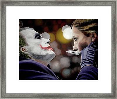 Heath Ledger Joker Framed Art Prints Fine Art America