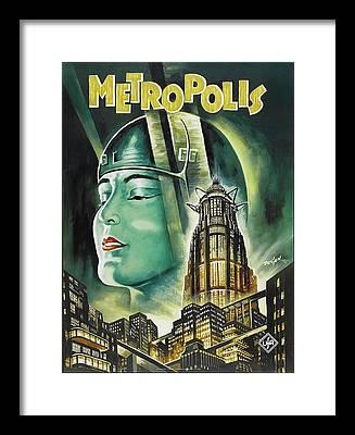 Metropolis Framed Prints