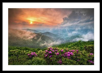 Sunrises Framed Prints