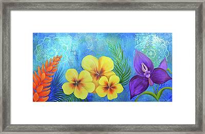 Hawaiian Flower Framed Art Prints Fine Art America