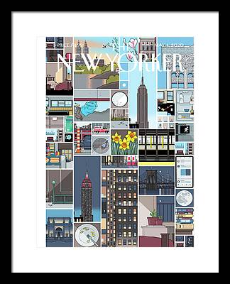 Ferry Framed Prints