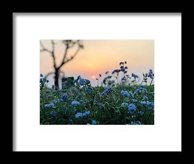Beautiful Sky Framed Prints