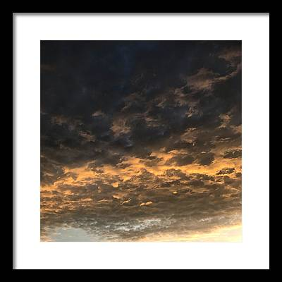 Storm Cloud Framed Prints