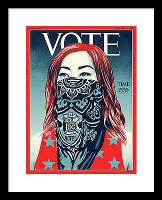 Political Framed Prints