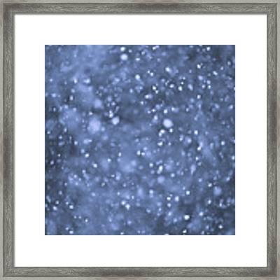 Evening Snow Framed Print