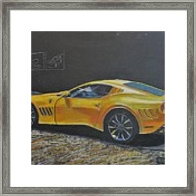 Ferrari Sp 275 Rw Competizione Framed Print by Richard Le Page