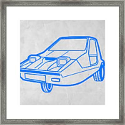 Funny Car Framed Print
